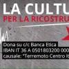 CIRCOLO ARCI COTONE: Raccolti 900 euro per le popolazioni colpite dal sisma